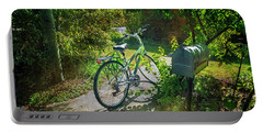 Portable Battery Charger featuring the photograph Raleio Bicycle by Craig J Satterlee