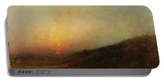 Ralph Albert Blakelock  1847  1919  Indian Encampment At Sunset Portable Battery Charger
