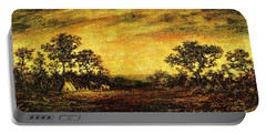Ralph Blakelock, Indian Encampment Portable Battery Charger