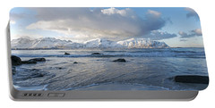 Ramberg Beach, Lofoten Nordland Portable Battery Charger