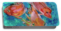 Ramshead Goldfish Portable Battery Charger by Jan Bennicoff