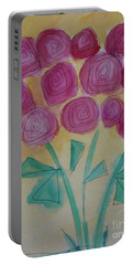 Randi's Roses Portable Battery Charger by Kim Nelson