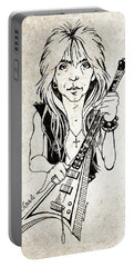 Randy Rhoads Portable Battery Charger by Gary Bodnar
