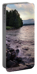 Rangeley Lake State Park In Rangeley Maine  -53215-53218 Portable Battery Charger