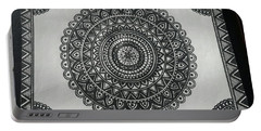 Rangoli-the Circle Of Designs Portable Battery Charger