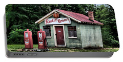 Rankins Grocery In Watercolor Portable Battery Charger