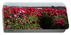 Ranunculus Field Portable Battery Charger