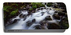 Rapids On Wahkeena Creek Portable Battery Charger