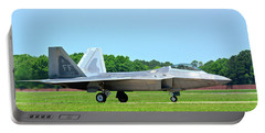Raptor Taxiing In Portable Battery Charger