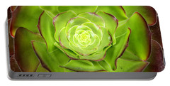Rare Aeonium Hybrid Portable Battery Charger
