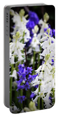Portable Battery Charger featuring the photograph Rare Bluebell Mix by Baggieoldboy
