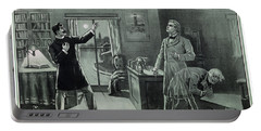 Rare Dr. Jekyll And Mr. Hyde Transformation Poster Portable Battery Charger