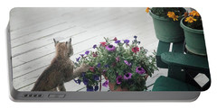 Swat The Petunias Portable Battery Charger