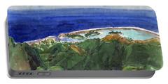 Rarotonga, View From Te Manga Portable Battery Charger