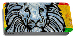 Rastafari Lion Portable Battery Charger