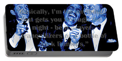 Rat Pack At Carnegie Hall With Quote Portable Battery Charger