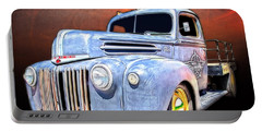 Rat Rod Flatbed Truck Texana Portable Battery Charger