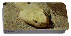 Rattlesnake Closeup Portable Battery Charger