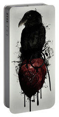 Raven And Heart Grenade Portable Battery Charger
