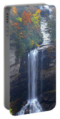 Raven Cliff Falls #2 Portable Battery Charger by Alan Lenk