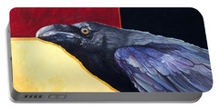 Raven Of The Tomorrow Wings Portable Battery Charger