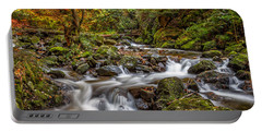 Cascades And Waterfalls Portable Battery Charger