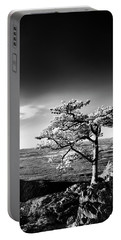 Portable Battery Charger featuring the photograph Ravens Roost Ir Tree by Kevin Blackburn