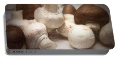 Raw Mushrooms Portable Battery Charger