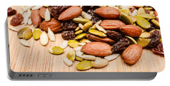 Raw Organic Nuts And Seeds Portable Battery Charger