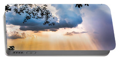 Portable Battery Charger featuring the photograph Rays Of Color by Parker Cunningham