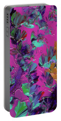 Razberry Ocean Of Butterflies Portable Battery Charger