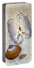 Razor Clam Study #2 Portable Battery Charger