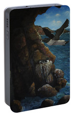 Razorbills Portable Battery Charger by Eric Petrie
