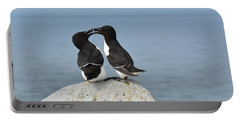 Razorbills In Love Portable Battery Charger