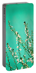Reach - Botanical Wall Art Portable Battery Charger by Melanie Alexandra Price