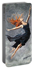 Reach For The Stars Portable Battery Charger by Janet McDonald