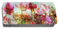 Portable Battery Charger featuring the digital art Reaching For The Sky by Michele A Loftus