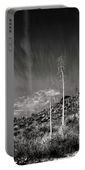 Reaching For The Sky Portable Battery Charger by Timothy Bulone