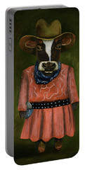 Real Cowgirl Portable Battery Charger