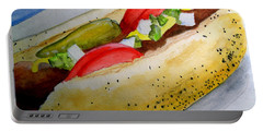 Real Deal Chicago Dog Portable Battery Charger