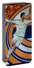 Real Madrid Painting Portable Battery Charger
