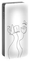 Really Loose Drawing  Portable Battery Charger by Keshava Shukla