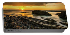 Portable Battery Charger featuring the photograph Receding Tide by Nick Bywater