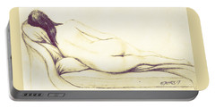Reclining Nude Portable Battery Charger