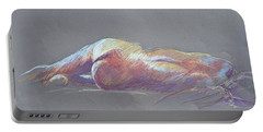 Reclining Study 5 Portable Battery Charger