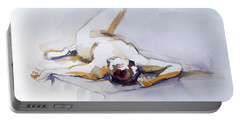 Reclining Study 6 Portable Battery Charger