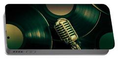 Recording Studio Art Portable Battery Charger