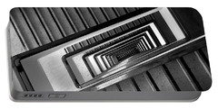 Rectangular Spiral Staircase Portable Battery Charger
