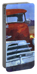 Red 1948 Chevy  Portable Battery Charger