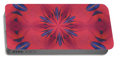 Red And Blue Portable Battery Charger